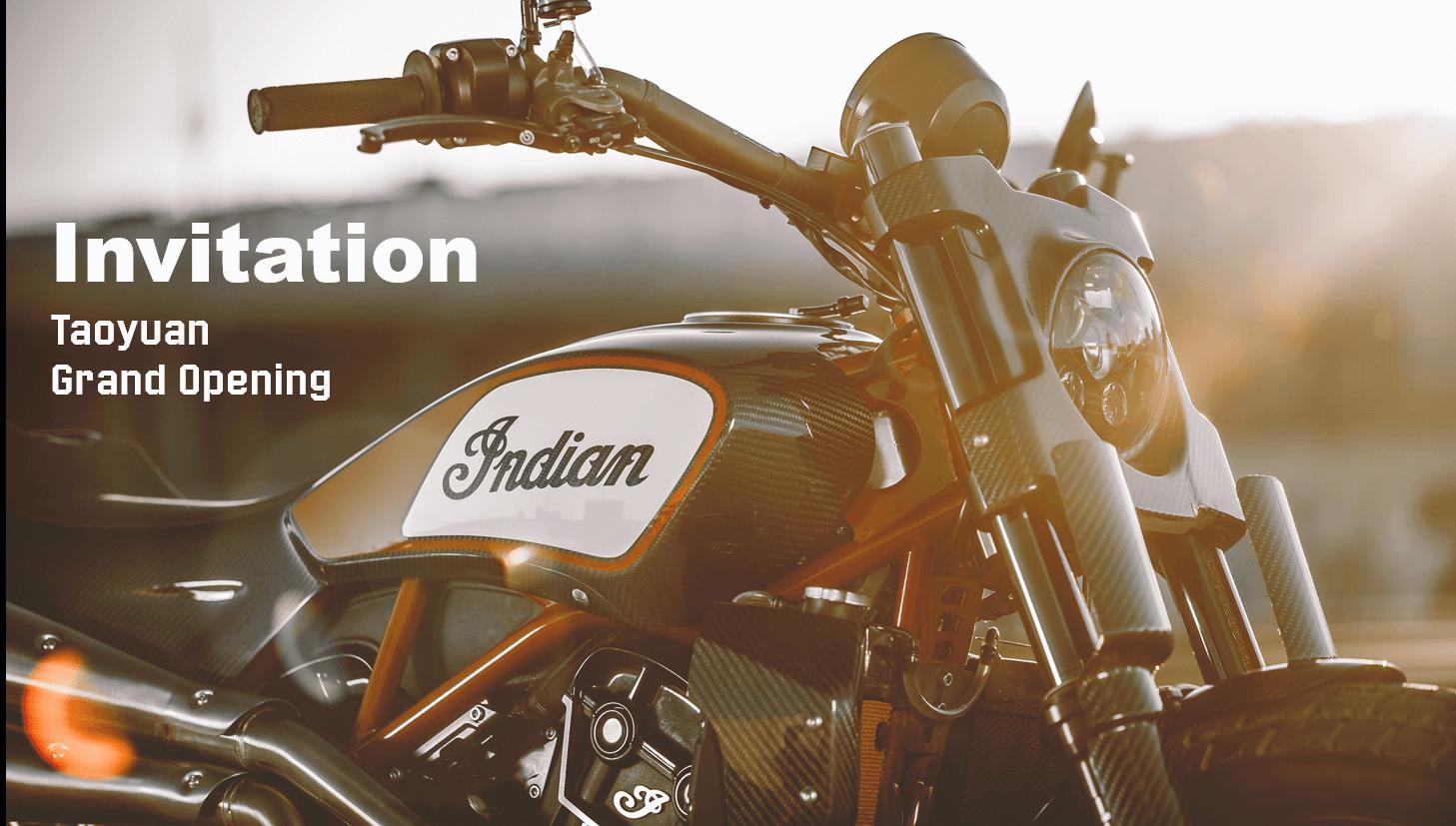 Indian Motorcycle 桃園旗艦展示中心隆重開幕